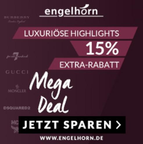 15% Extra-Rabatt auf verschiedene Luxusmarken