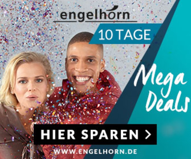Engelhorn: Übersicht der aktuellen Mega Deal Rabattaktionen
