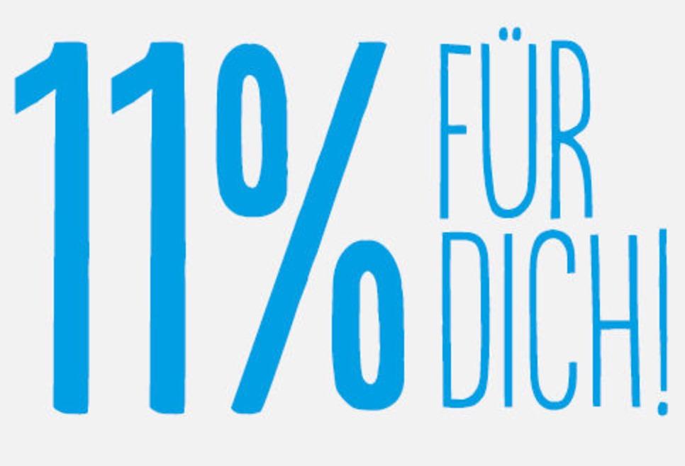 11% Rabatt auf viele ausgewählte Artikel im Blue Tomato Onlineshop