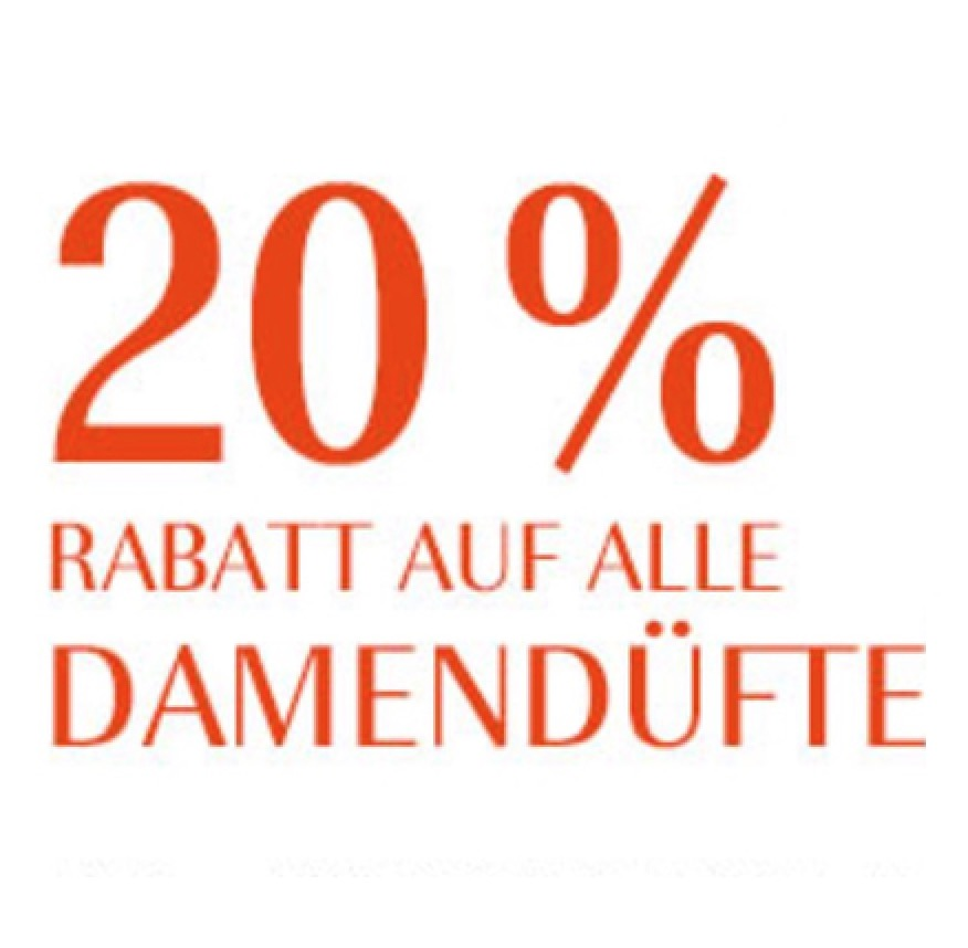 20 Rabatt Auf Alle Damendufte Bei Douglas Snipz De