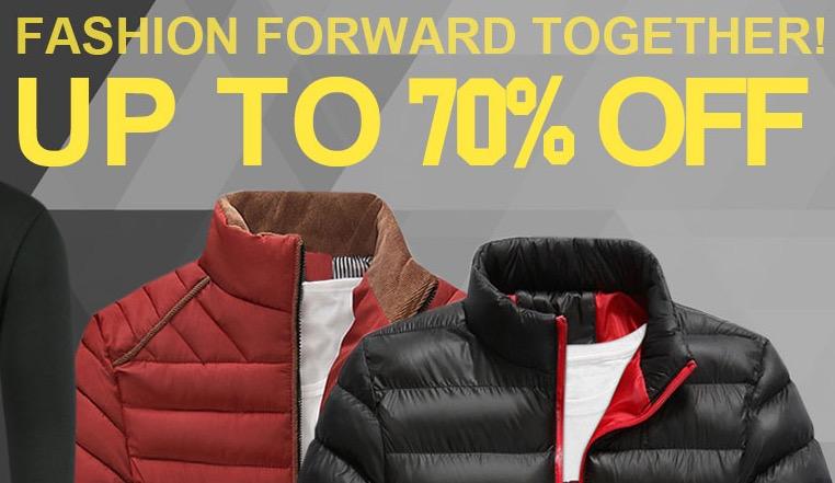 Riesiger Fashion-Sale mit bis zu 70% Rabatt auf die sowieso schon tolle Preise bei Gearbest – zusätzlich 25%