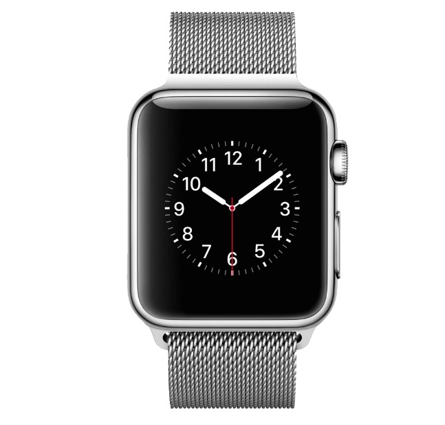 Apple Watch Stainless Steel 38mm mit Milanaise-Armband nur 389,40 Euro inkl. Versand