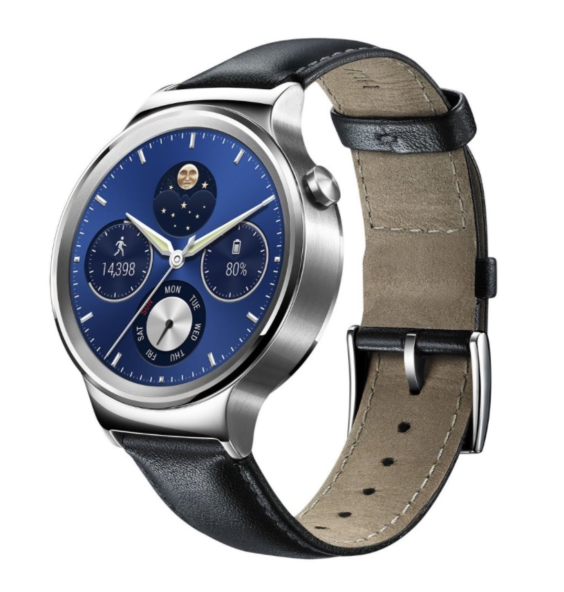 Huawei W1 Stainless Steel Classic Smartwatch mit Lederarmband für nur 200,- Euro inkl. Versand