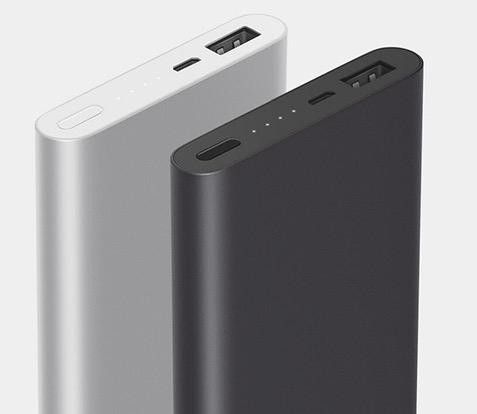 Xiaomi Ultra-thin 10000mAh Powerbank 2. Gen. in Silber oder Schwarz nur 12,59 Euro inkl. Versand