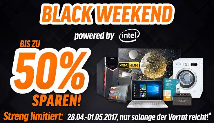 Black Weekend Deals mit bis zu 50% Rabatt auf versch. Elektronik Artikel (Acer, HP, MSI, Intel uvm.)