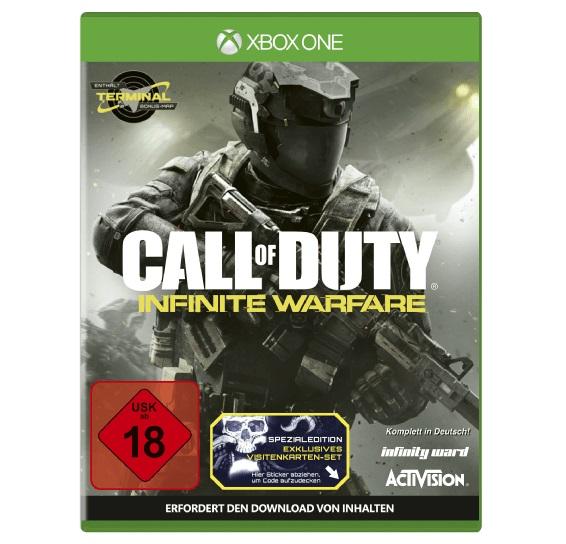 Call of Duty: Infinite Warfare Standard Edition (Xbox One) für nur 36,99 Euro inkl. Filiallieferung