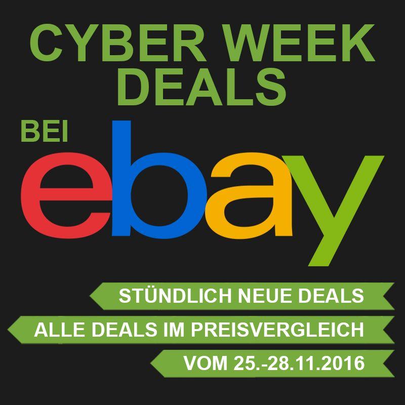 Ebay Cyberweek Deals – alle Angebote ab 17:00 Uhr am Black Freitag!