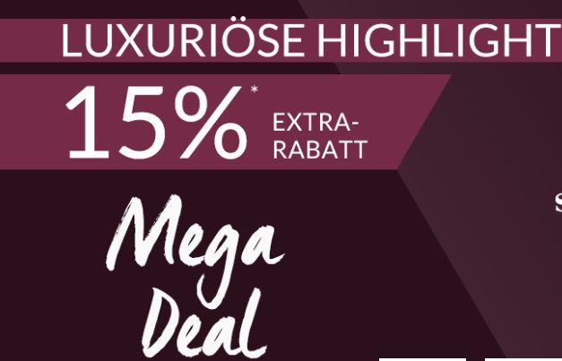 "15% Rabatt auf ""Luxuriöse Highlights"" von Marken wie Michael Kors, Belstaff, MCM, Moncler uvm."
