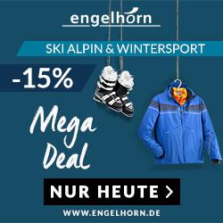 15% Extra-Rabatt auf Ski Alpin und Wintersport
