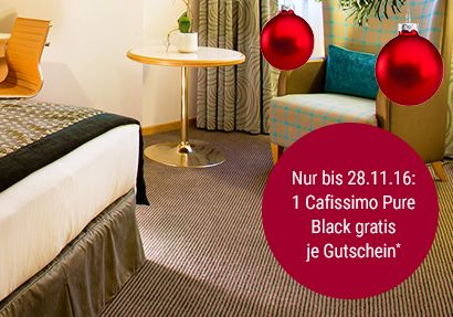 2 Übernachtungen inkl. Frühstück für 2 Personen in einem Hilton Hotel für nur 199,- Euro + Gratis Kaffeemaschine bei Tchibo!
