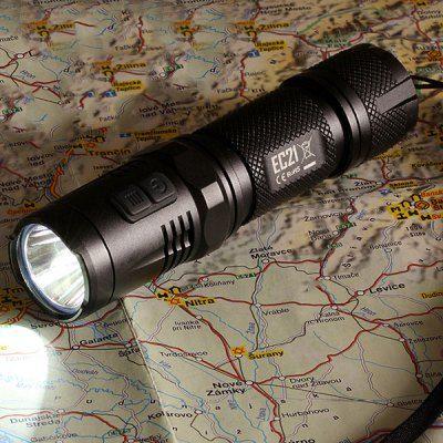 Neuer Gutschein: LED-Taschenlampe Nitecore EC21 Cree XP mit 460 Lumen für 21,97 Euro