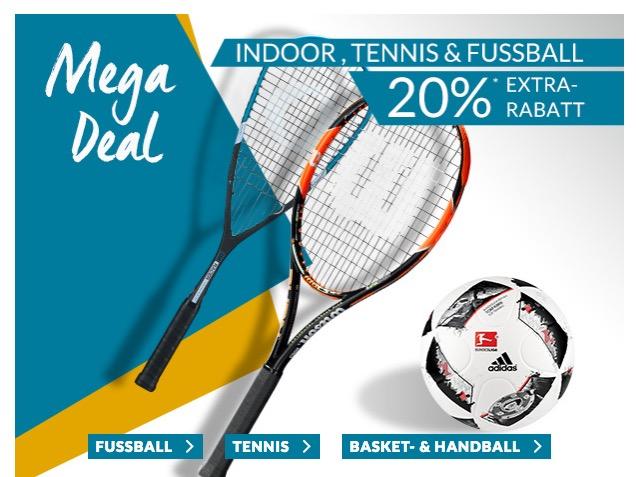 Trikots uvm.! 20% Extrarabatt auf das Fussball- bzw. Ballsportsortiment bei Engelhorn + 5,- Euro Gutschein