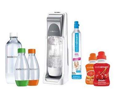 SodaStream Cool grau Super-Spar-Pack Wassersprudler