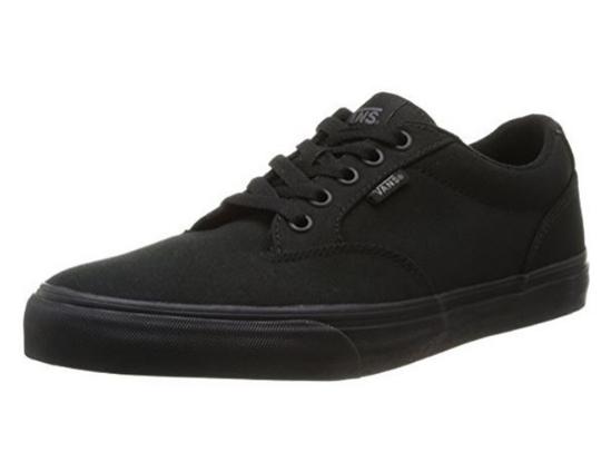 Vans WINSTON, Unisex Sneakers, Schwarz ((Canvas) Black/ 186) für nur 24,90 Euro inkl. Versand
