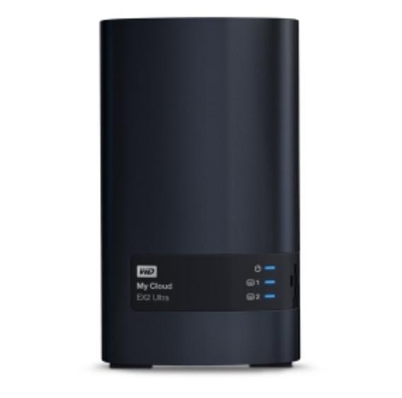 WD My Cloud EX2 Ultra NAS System mit 8TB (2x4TB) Festplatten für nur 299,- Euro inkl. Versand