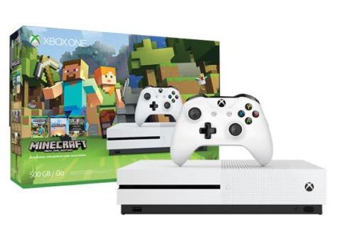 Knaller! Xbox One S 500GB inkl. Minecraft durch Gutschein und Superpunkte effektiv nur 169,19 Euro (statt 260,-)