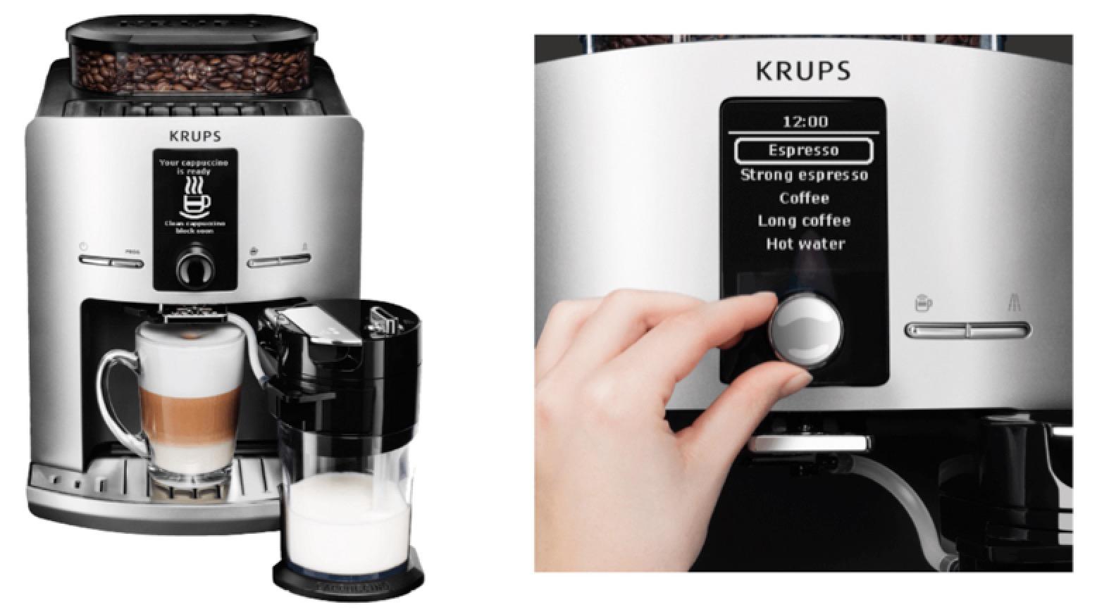 Krups Kaffeevollautomat bei Saturn