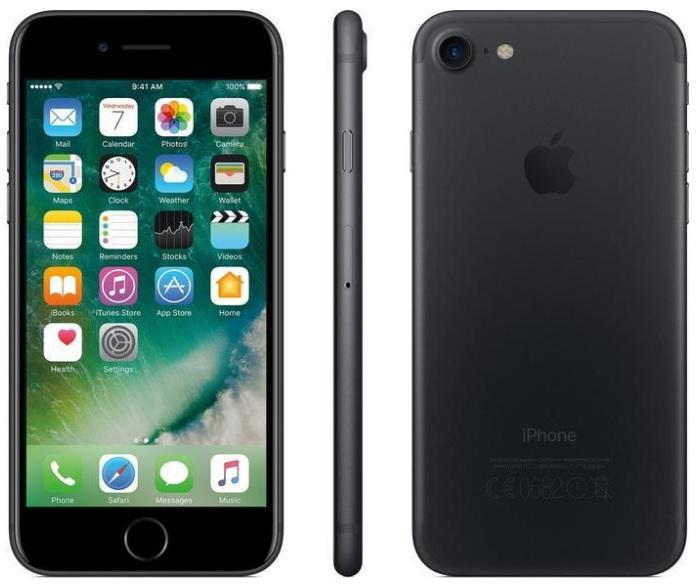 Nur wenige verfügbar! Apple iPhone 7 (32GB) in Schwarz für nur 532,99 Euro inkl. Versand