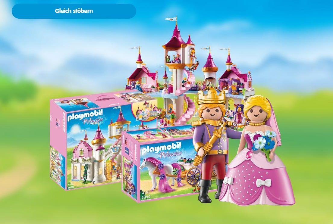 nur heute 15 rabatt auf playmobil princess artikel im playmobil onlineshop. Black Bedroom Furniture Sets. Home Design Ideas
