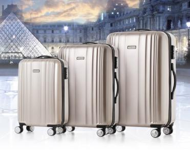 Wieder da: 3-teiliges Hartschalen-Kofferset von Tomshoo für 60,99 Euro inkl. Versand aus Deutschland