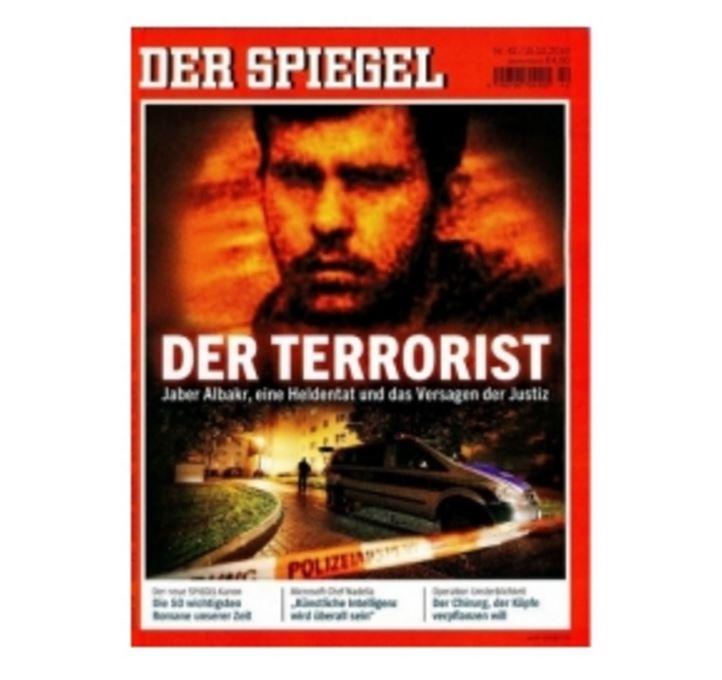 6 Ausgaben der Zeitschrift Spiegel