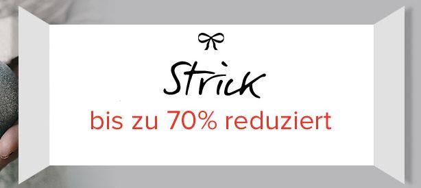 Heute bis zu 70% Rabatt auf Strick bei Dress-for-Less + 10% Newslettergutschein