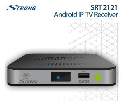 Strong SRT 2121 Android IPTV-Box mit DVB-S2 Tuner nur 69,- Euro