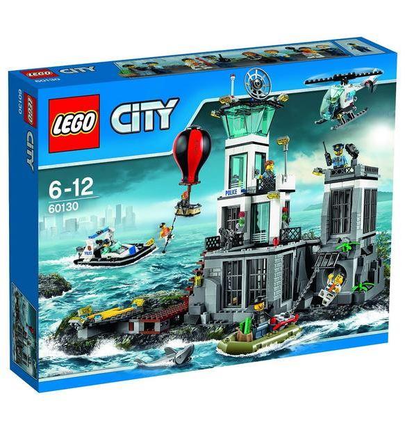 LEGO City 60130 Polizeiquartier auf der Gefängnisinsel