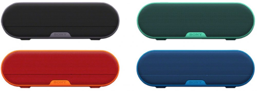 Bis 9:00 Uhr: SONY SRS-XB2 Bluetooth Lautsprecher (9 Watt, NFC, Wasserfest) für nur 55,- Euro