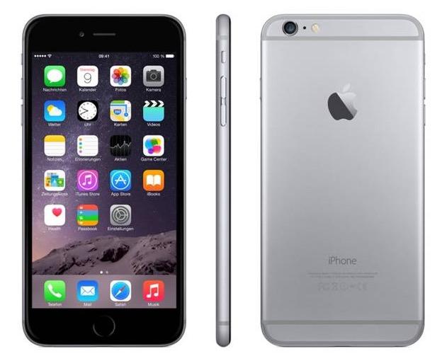 Apple iPhone 6 Plus 16GB ohne Simlock NEU & OVP in allen Farben nur 449,95 Euro inkl. Versand