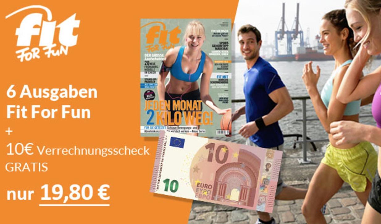 Endlich Waschbrettbauch!? 6x Fit for Fun effektiv nur 9,80 Euro