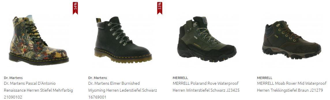 Herren Stiefel und Boots Sale (Geox, Kappa, Dr. Martens