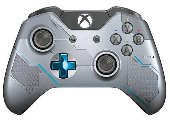 """Microsoft Xbox One Wireless Controller Spartan Locke Limited Edition """"Refurbished"""" für nur 36,49 Euro inkl. Versand"""
