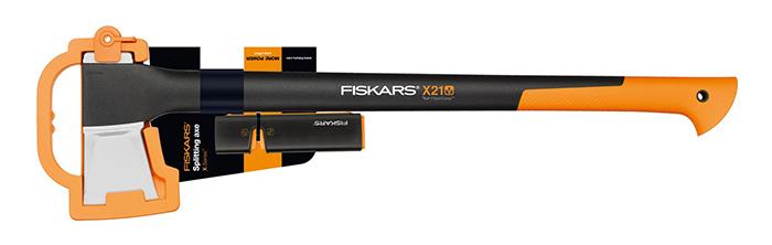 Fiskars Spaltaxt X21-L + Messerschärfer XSharp für nur 37,- Euro inkl. Versand