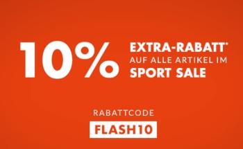 Nur noch Heute! Engelhorn Sports Flash Sale mit bis zu 50% Rabatt + 10% Gutschein!