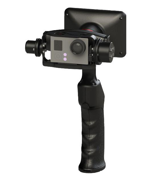 ROLLEI Elektronischer Stabilisator eGimbal G5 mit Display (GoPro Hero 3, 3+, 4) für nur 99,- Euro inkl. Versand