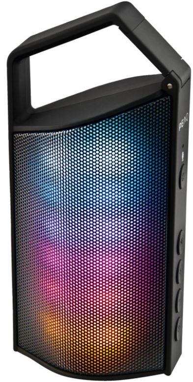 PEAQ PPA33BT-B Bluetooth-Lautsprecher (2 Watt, LED-Beleuchtung) für nur 29,99 Euro inkl. Versand