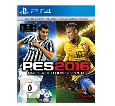 PES 2016  Pro Evolution Soccer 2016 (Day 1 Edition) für Xbox und PlayStation 4 nur 3,- Euro