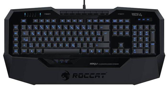 Roccat Isku FX Multicolor Gaming Tastatur (B-Ware) für nur 56,99 Euro inkl. Versand