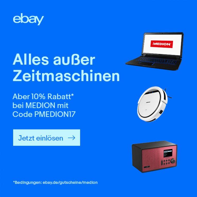 Medion Gutschein Ebay