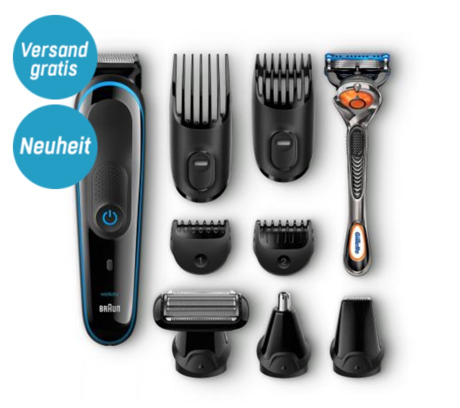 Braun MultiGrooming Körperhaartrimmer Kit MGK3080 für nur 49,90 Euro