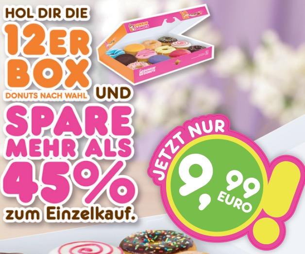 dunkin donuts coupons f r berlin leipzig und nrw z b. Black Bedroom Furniture Sets. Home Design Ideas