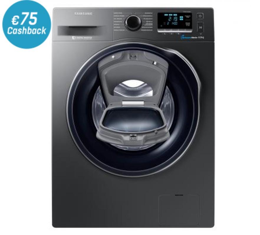 Samsung WW80K6404QX/EG Waschmaschine (8 kg, A+++) für nur 639,90 Euro + 75,- Euro Cashback