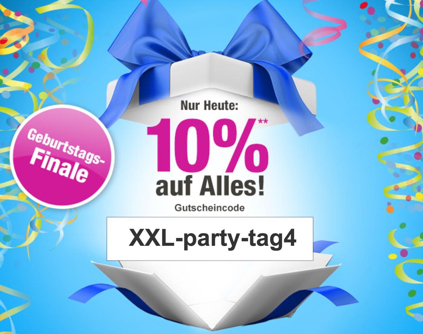 Nur heute: 10% Gutscheincode auf Alles bei GartenXXL