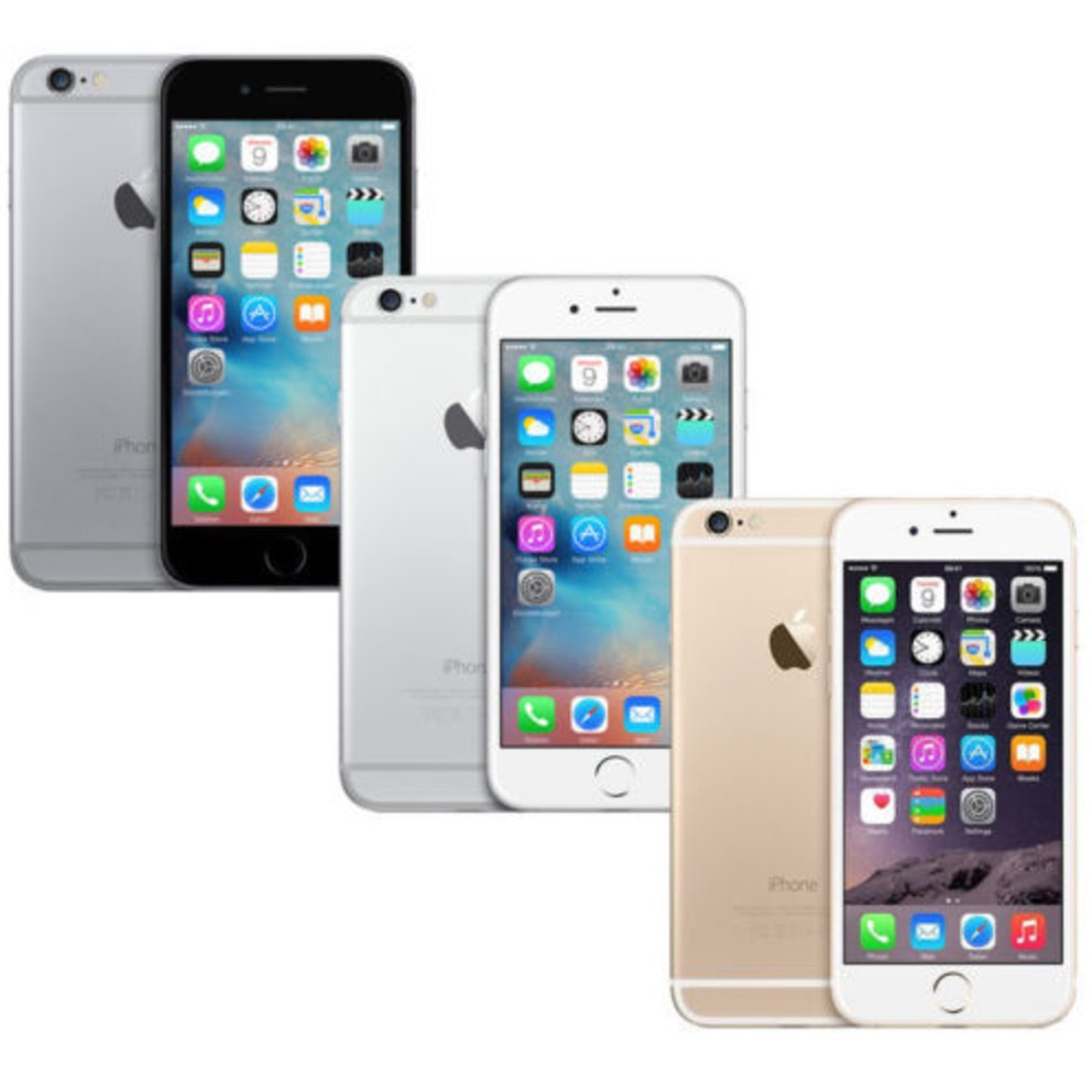 apple iphone 6 16gb in silber grau oder gold refurbished. Black Bedroom Furniture Sets. Home Design Ideas