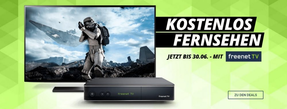 DVB-T Alternative: Mit freenet TV in HD-Qualität fernsehen (bis 30.06. kostenlos)