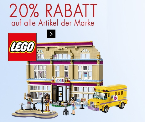 tipp 20 rabatt auf alle artikel von lego bei karstadt. Black Bedroom Furniture Sets. Home Design Ideas