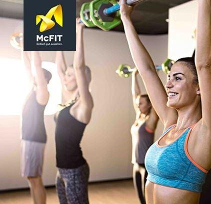 Knaller! 12 Monate McFIT Mitgliedschaft für nur 179,- Euro (statt 257,80) oder 24 Monate für nur 329,- Euro (statt 496,60)