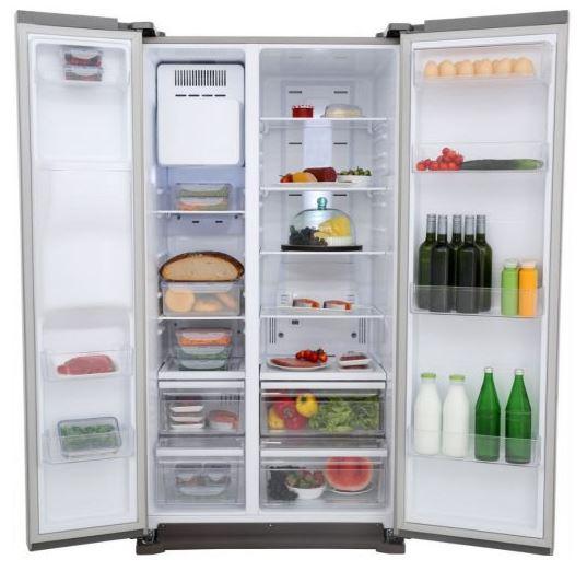 Samsung RS7568BHCSP freistehender Side-by-Side Edelstahlkühlschrank nur 899,- Euro