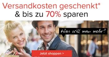 Bis zu 70% Rabatt im Dress-for-Less Sale + kostenloser Versand bis 19. Februar!